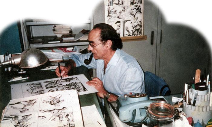 Paul bennett l americano immagini fumetti for Disegnatori famosi